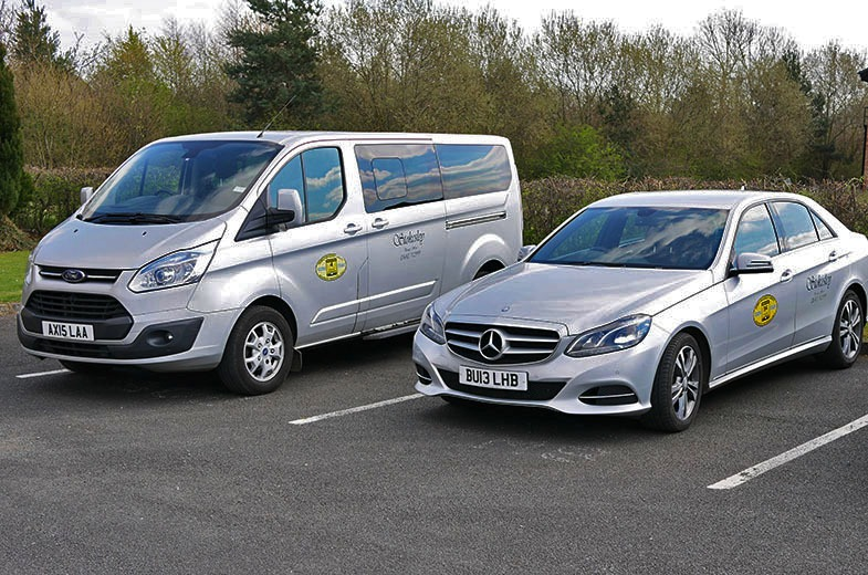 Minibus and Saloon Vehicles To Hire